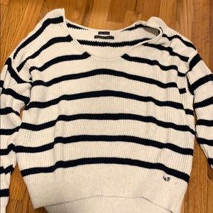 Abercrombie striped sweater